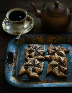 Rye & marmalade cookies