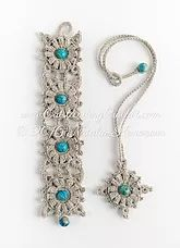 Crochet fiber jewelry patterns