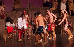 """Nanyehi stage performance: Tahlequah production of """"Nanyehi-Beloved Woman of the Cherokee."""