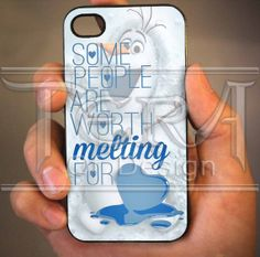 Olaf Funny Quote design for iPhone 4/4s, iPhone 5, iPhone 5s, iPhone 5c, Samsung Galaxy S3, Samsung Galaxy S4 Case
