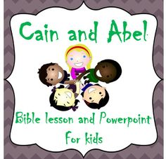 This Cain and Abel Bible Story includes:-Engaging lesson for reading aloud(No Prep)-Simple Powerpoint to keep students' interestThis is a retelling of the Bible story of Cain and Abel found in Genesis 4. The Gospel is interwoven throughout the story.You may also be interested in this Bible Story Bundle