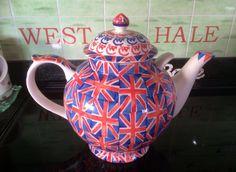 Emma Bridgewater Union Jack Gallon Teapot Studio Special for Collectors Day 2011