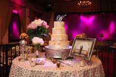 custom wedding cake by The Sweeter side of Chantrelles at Padua Hills Theatre