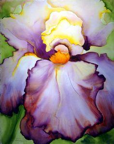 Iris by Georgia O'Keeffe