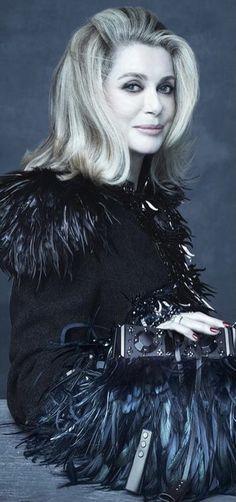 Catherine Deneuve, Cannes, Beautiful Men, Beautiful People, High Fashion, Louis Vuitton, Hollywood, Glamour, Lady