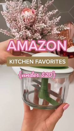 Kitchen Gadgets, Home Gadgets, Kitchen Hacks, Amazon Gadgets, Cool Gadgets To Buy, Toy Kitchen, Kitchen Stuff, Kitchen Cabinets, Kitchen Appliances