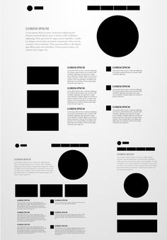 Responsive webdesign patterns, this may come in handy when designing/wireframing a new responsive website