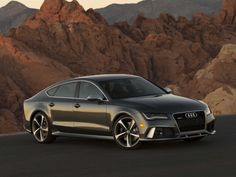 The Audi RS 7 is — in one word — intense.