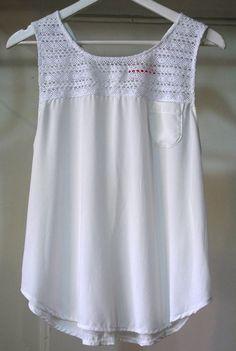"""Vestidos y remeras bordadas de """"Las Dumas"""" verano-2016-"""