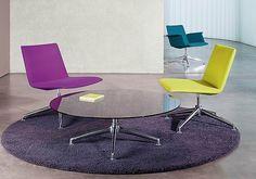 Lounge-Sessel finalounge ? brunner - schlanke Loungemöbel