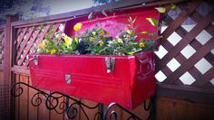 These flower pots and planters made from old things can be great idea to decorate your home and garden.
