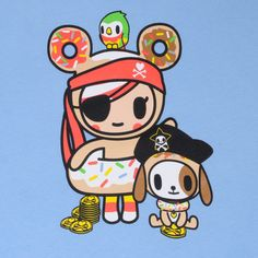 Tokidoki pirates