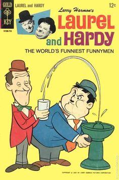 Laurel and Hardy # 2 (Gold Key Comics) 1967