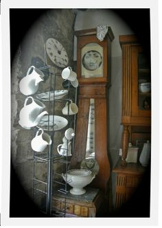 horloge comtoise transformee en armoire 5 tablettes meuble relooker pinterest photos. Black Bedroom Furniture Sets. Home Design Ideas