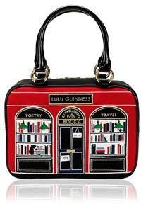 The best out of Britain: Lulu Guinness Black Book Shop Small Jenny on bagservant.co.uk