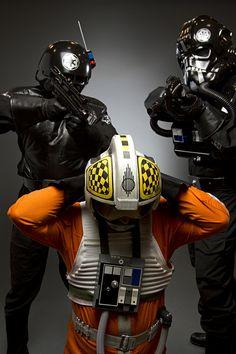 The prisoner. #starwars #501st #pilot #rebel #xwing