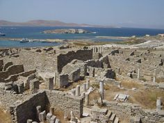 Delos another site where Etruscan religious mysteries took place