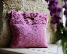 Great knitted bag.