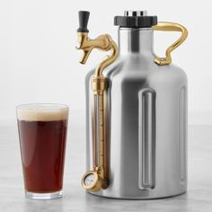 Fathers Day gift ideas: Beer Growler, Willams Sonoma ($209)