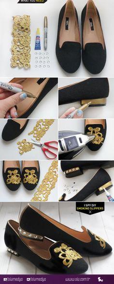Ayakkabılarınıza yeni görünümler kazandırın.