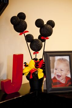 """Photo 29 of 36: Mickey Mouse / Birthday """"Jax's First Birthday"""" 