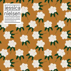 surface pattern design by Jessica Nielsen Flower Pattern Design, Surface Pattern Design, Pattern Art, Abstract Pattern, Pattern Illustration, Graphic Design Illustration, Motif Floral, Floral Prints, Textile Patterns