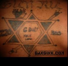 Street gang signs and symbols gang related pinterest for Gangster disciple tattoos