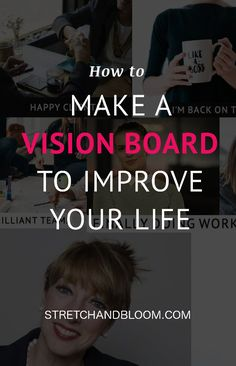 How to make a vision board to improve your life (& keep your resolutions!) Holz Handwerk , How to make a vision board to improve your life (& keep your resolutions!) How to make a vision board to improve your life (& keep your resolutions! Natural Cough Remedies, Cold Home Remedies, Natural Remedies For Anxiety, Natural Cures, Natural Skin, Sleep Remedies, Natural Sleep, Homeopathic Remedies, Natural Health