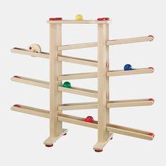 Holz-Kugelbahn von FAGUS Holzspielwaren | Echtkind 1+