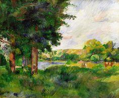 Cezanne Landscapes | Landscape Painting by Paul Cezanne - Landscape Fine Art Prints and ...