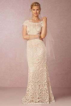 New Lace Wedding Dresses from BHLDN