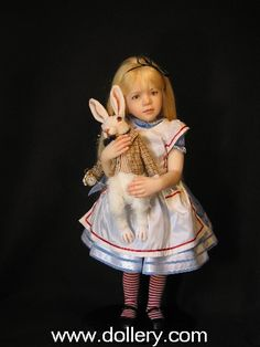 jane bradbury alice in wonderland doll - Google Search