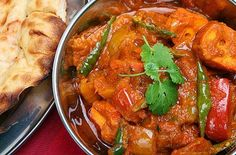 Chicken & tomato spiced curry
