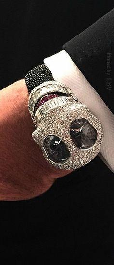 De Grisogono, the white diamond watch