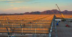 Abengoa's Solana solar plant in Gila Bend, Arizona. One of the 13 Major Clean Energy Breakthroughs Of 2013.