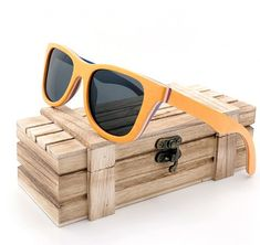 Unisex Retro Vintage Polarized Skateboard Wooden Glasses With Wood box Sunglasses Price, Wooden Sunglasses, Polarized Sunglasses, Sunglasses Women, Popular Sunglasses, Stylish Sunglasses, Retro Vintage, Wooden Gift Boxes, Wooden Case
