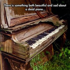 The Death Of A Piano
