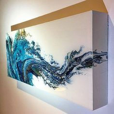 Image result for 77 acrylic flip and drag with negative space dianemichelutti