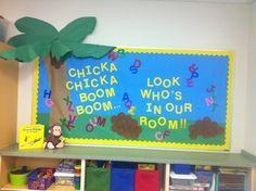 My 2013 kindergarten beginning of the year bulletin board.