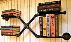 Free-Shipping-Iron-Pipes-Bookshelf-American-Country-to-do-the-Ol