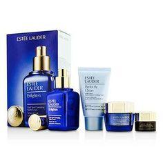 Skintone-Spot Correction Set: Enlighten Serum 50ml + Creme 15ml + ANR Eye Complex II 5ml + Perfectly Clean 30ml - 4pcs
