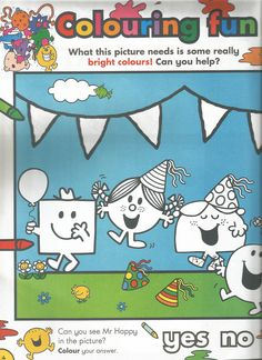 Mr. Men Little Miss Magazine - Beefeater Special Issue - Page 3
