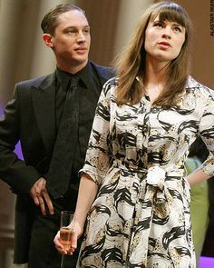 Tom Hardy and Hayley Atwell. /The Man of Mode 2007