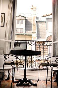 Paris apartment.