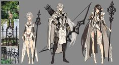 Game Character Design, Character Design Animation, Fantasy Character Design, Character Creation, Character Design Inspiration, Character Concept, Character Art, Concept Art, Christmas Drawing