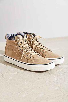 7785759b64a Vans Sk8-Hi Woven Chevron MTE Sneaker - Urban Outfitters