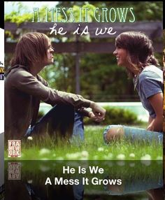A beautiful song from a really good band. They need to release more of their songs on iTunes! They have 2 albums, but their best songs are on YouTube. A Mess it Grows by He is We.