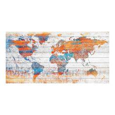 """Warm World (40""""L x 20""""H)"""