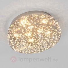 Kristallbesetzte LED-Deckenleuchte Kirika 9979016