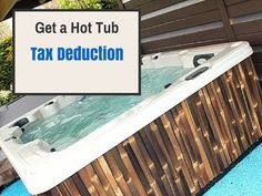 How to Write Your Hot Tub off as a Medical Expense on your Taxes If you have a medical condition that can be improved or treated by a time spent soaking in a h